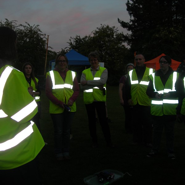 Bat walk at Bioblitz 2015