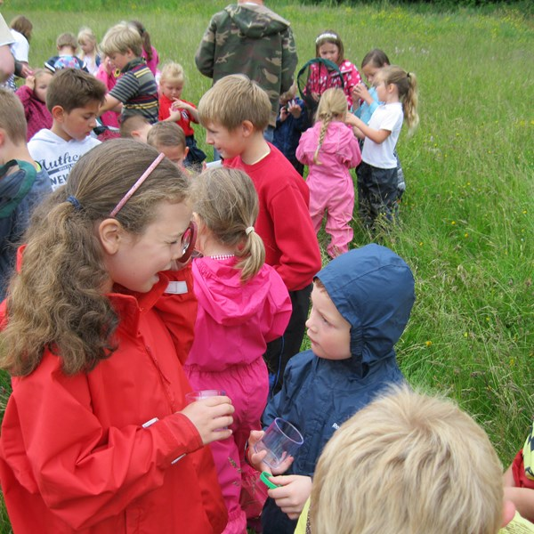 Outdoor learning on the Downs