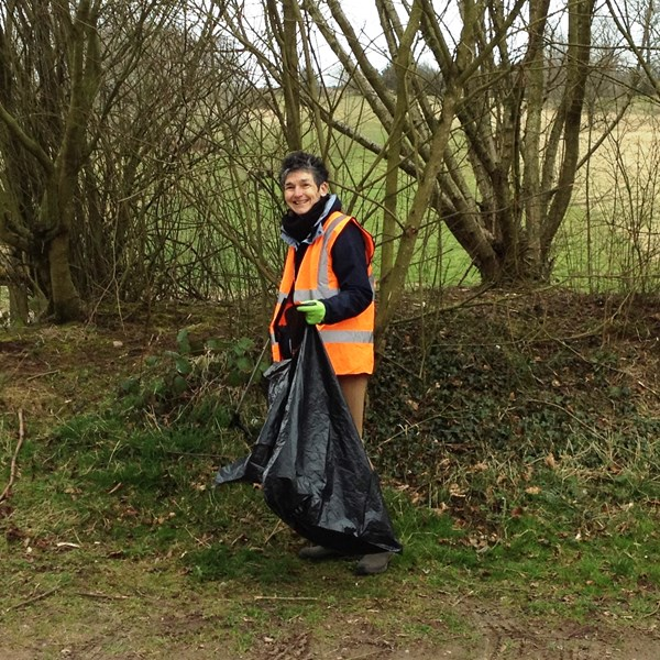 Community litter pick 2014