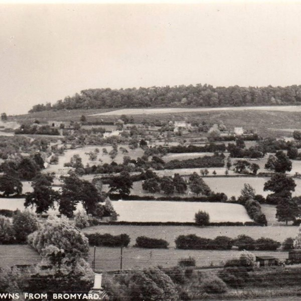 Historic photo of the Downs