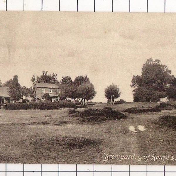 Golf House in 1905